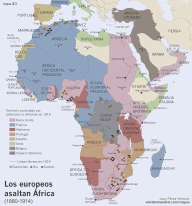 Mapa África 2