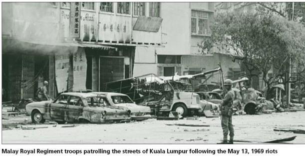Los disturbios de mayo de 1969 se cobraron la vida de cientos de chinos étnicos