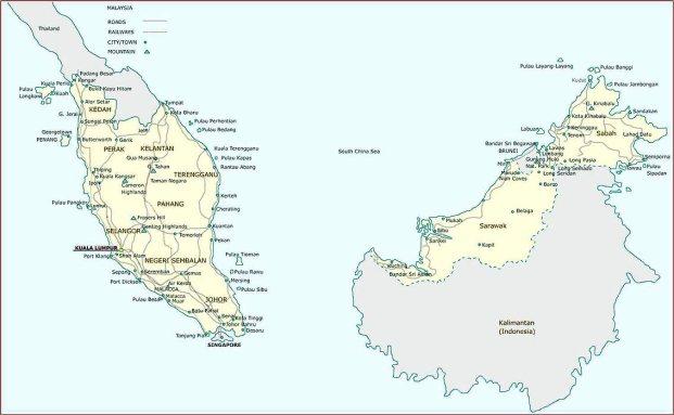 La zona de la actual Malasia es un punto de altísimo valor estratégico en Asia-Pacífico