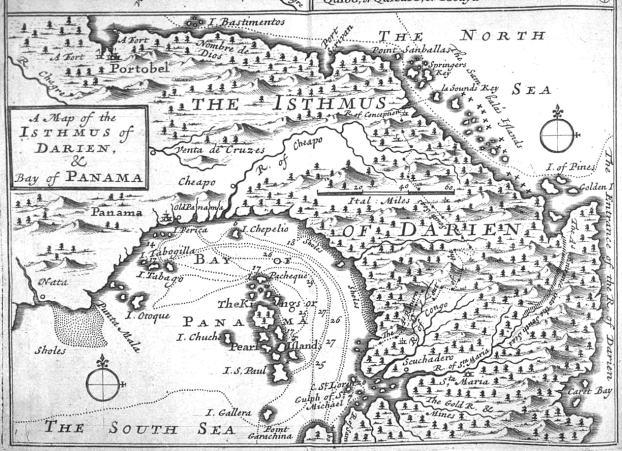 La zona del istmo de Panamá ha sido durante siglos de un valor geoestratégico importante.