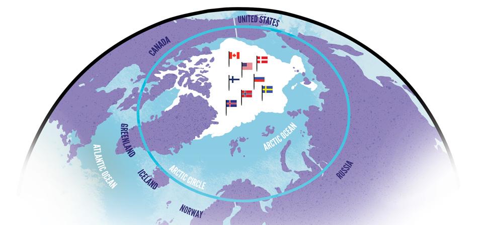 Riesgos, límites y oportunidades de la militarización del Ártico