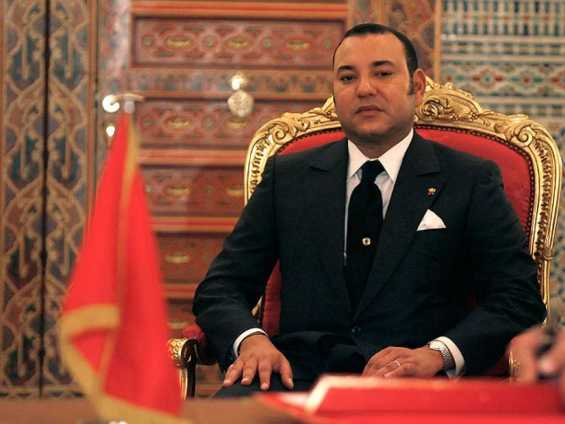 """Mohammed VI, """"príncipe de los creyentes"""". De él numerosos medios han dicho que es homosexual. Imagen: RTVE."""