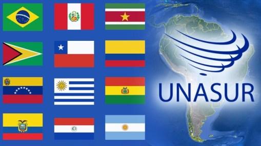 La membresía de UNASUR. Russia Today