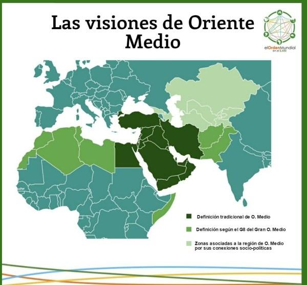 El concepto de Oriente Medio ha sido tan flexible que ha llegado a abarcar lugares tan distantes como Kazajistán y Marruecos.