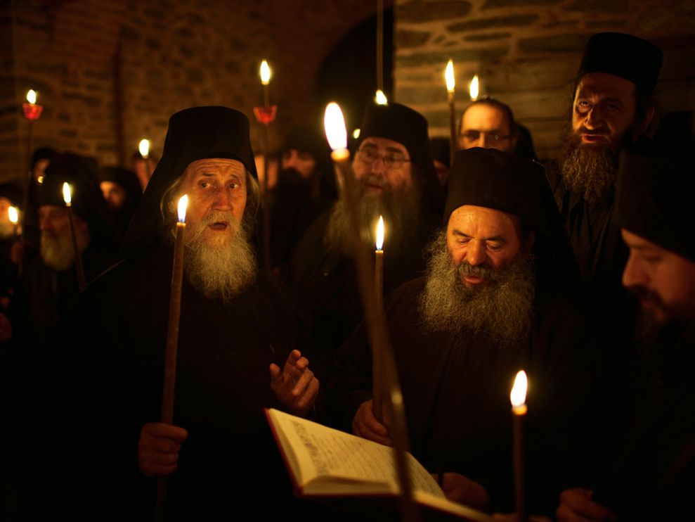 De monjes, mujeres y Putin: el Monte Athos