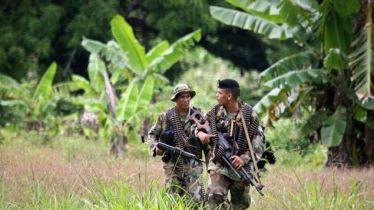 Fuerzas especiales patrullando el Darién. Fuente: Telemetro
