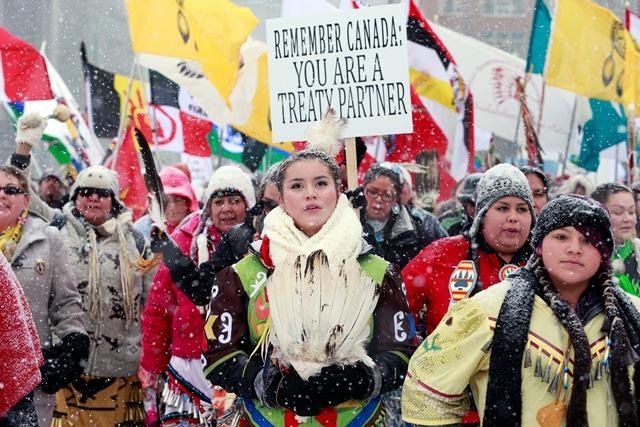 Los derechos indígenas, la asignatura pendiente de Canadá