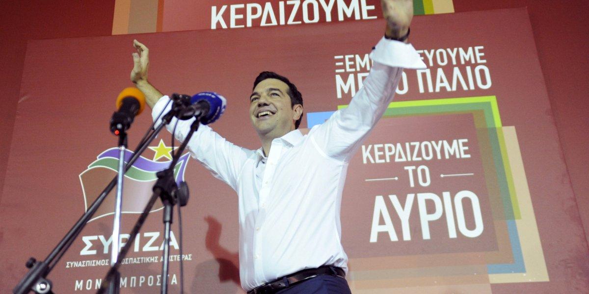 Alexis Tsipras, la revolución pendiente
