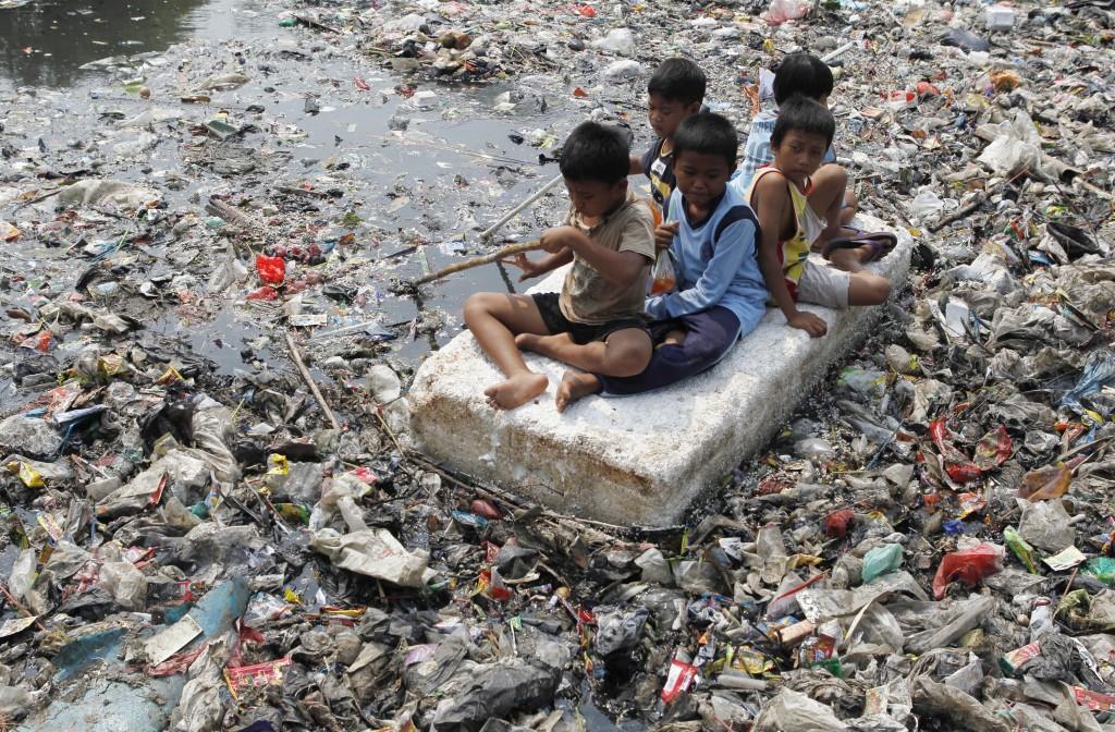 clima niños contaminacion