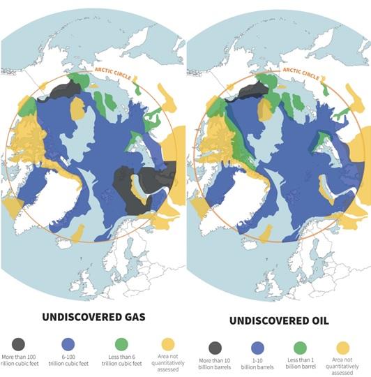 Petroleo Gas Recursos Ártico
