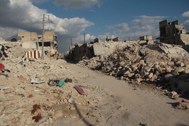 Pulso de fuerzas sobre Siria