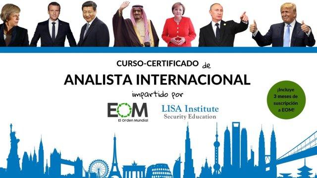 Lanzamos un Curso de Analista Internacional con LISA Institute