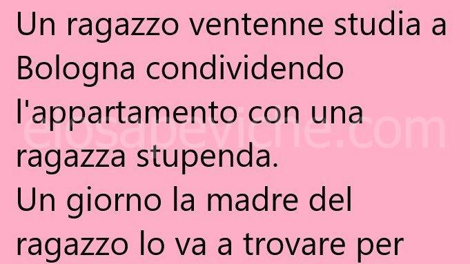 Un ragazzo ventenne studia a Bologna … (Barzelletta)