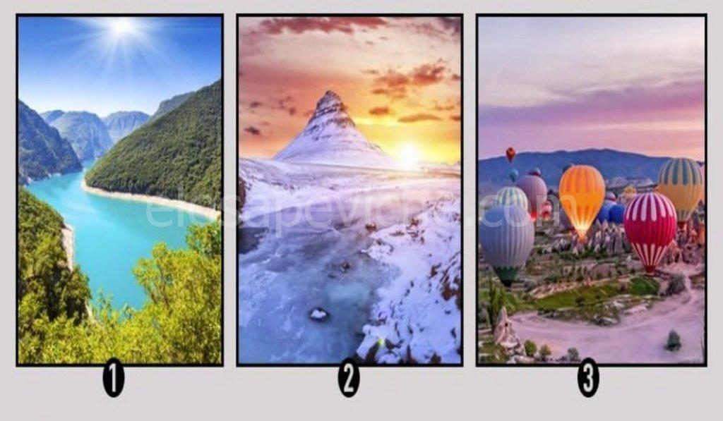 Scopri quali cambiamenti ti aspettano nella vita scegliendo un paesaggio