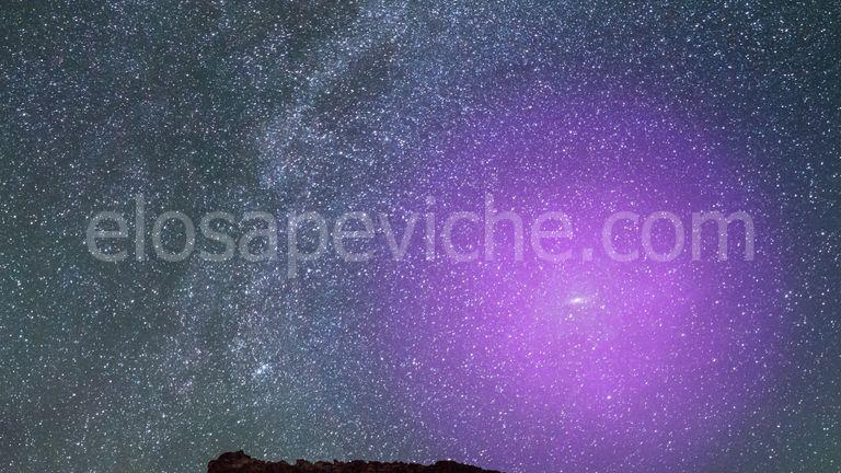 Gli aloni galattici della Via Lattea e di Andromeda si scontrano