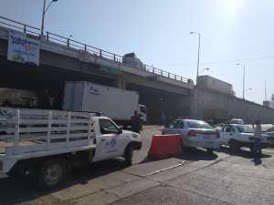Por las obras se generó tráfico pesado en la zona