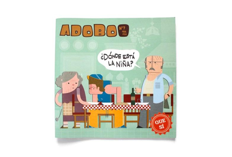 Adobo Fanzine - Portada