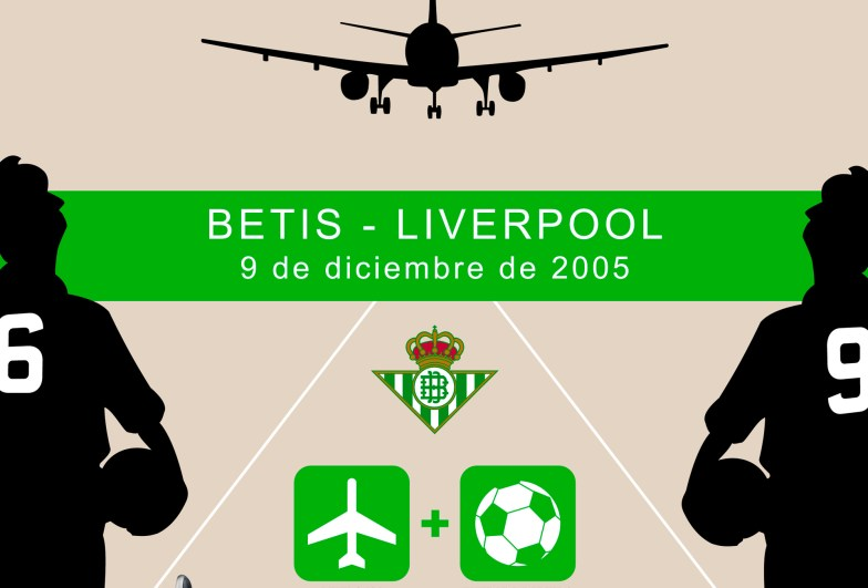 "Amena - Cartel ""Betis - Liverpool"" (detalle)"