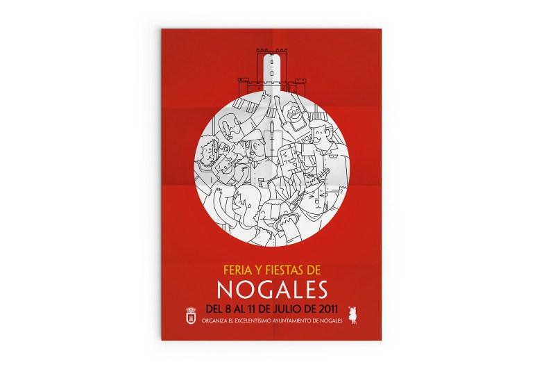 Feria y Fiestas de Nogales - Cartel