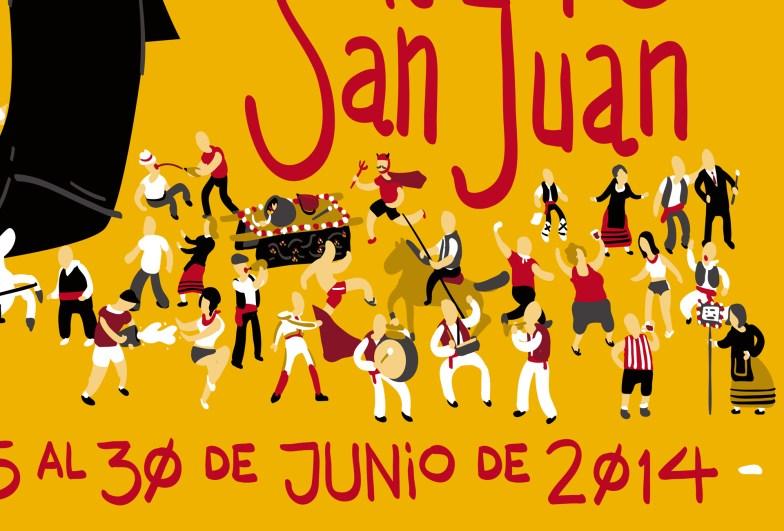 Fiestas de San Juan - Cartel (detalle 1)
