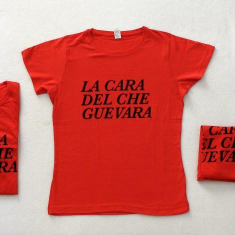 Camisetas 1000x0001 - La cara del Che Gevara individual chica