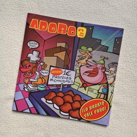 Adobo Fanzine 4 - portada