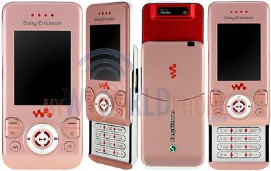 Location Tlphone Portable Sony Ericsson W580I Rose