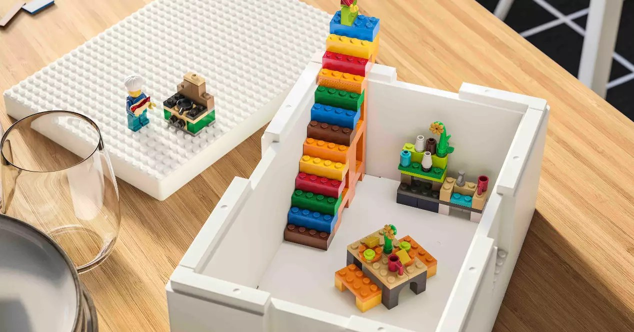 Ny Ikea Og Lego Collection Bygglek Til Opbevaring Itigic
