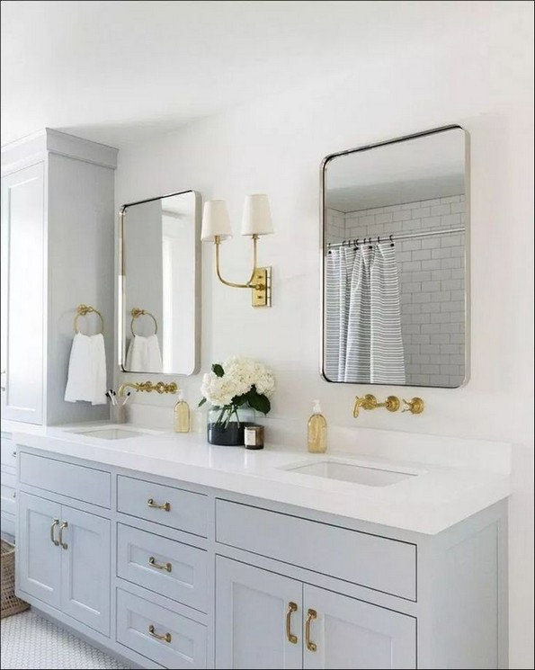 18 Fresh And Stylish Small Bathroom Remodel Add Storage Ideas 21