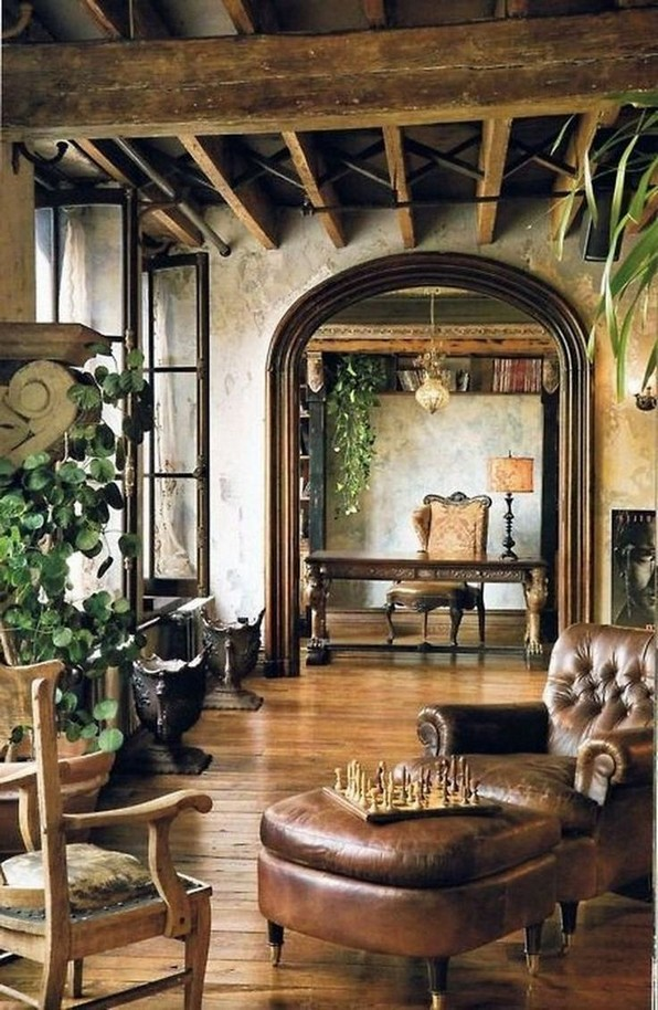 14 Amazing Rustic Italian Farmhouse Decor 22