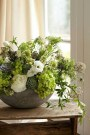 15 Beautiful Rustic Green And White Flower Arrangements 12