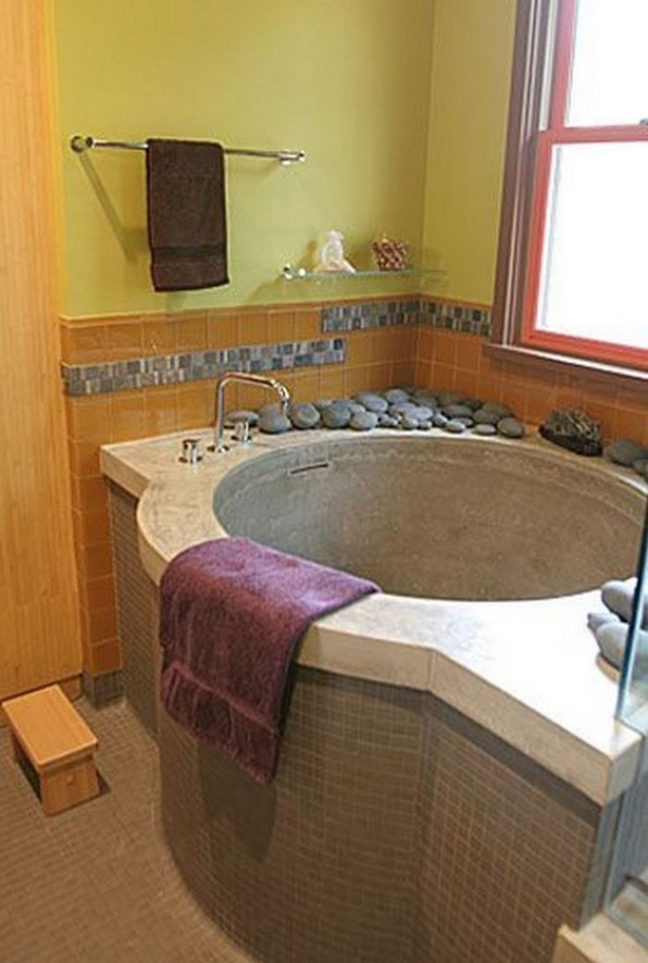 15 Japanese Bathtub Master Bathroom Interior Design 08 1