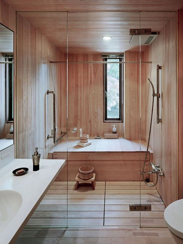 15 Japanese Bathtub Master Bathroom Interior Design 12