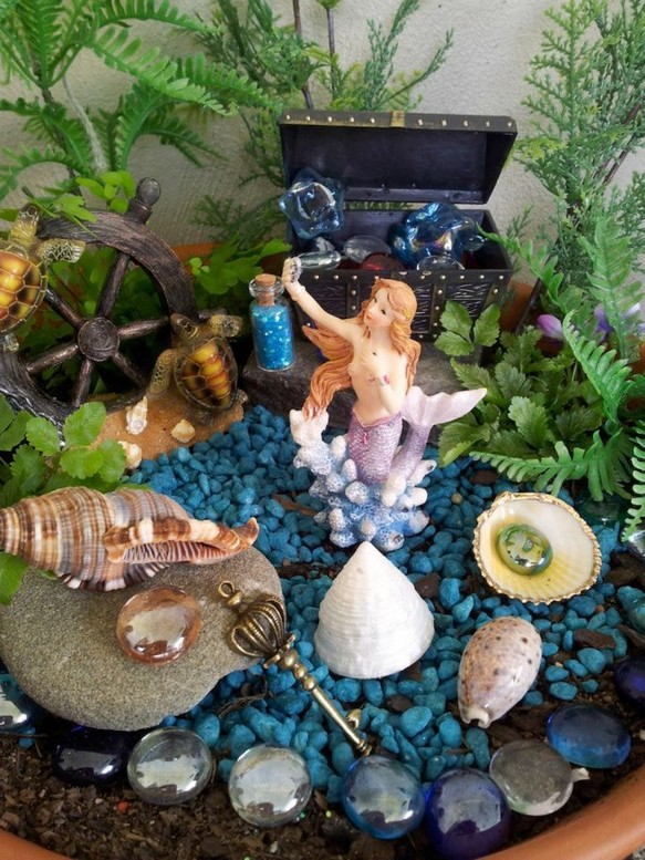 17 Easy DIY Magical Mermaid Garden Design Ideas 11