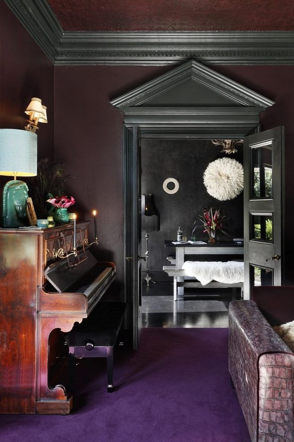 17 New Exotic Dark Boho Room Decor 03