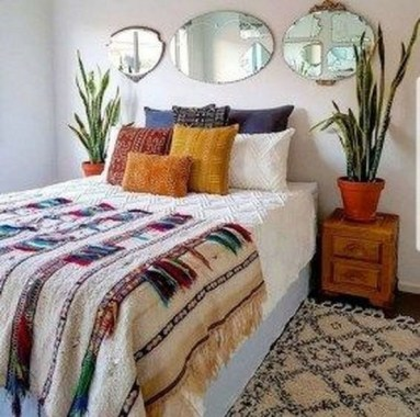 17 Popular Modern Bohemian Bedrooms Ideas 11