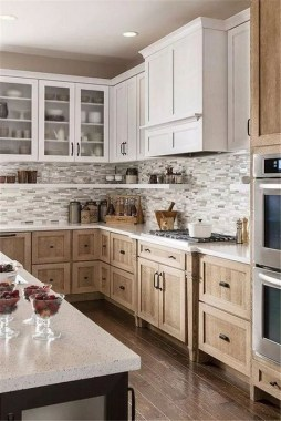 17 Stylish Rustic Kitchen Cabinet Design Ideas 12