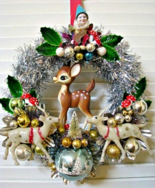 17 Vintage Christmas Decorating Ideas On A Budget 21