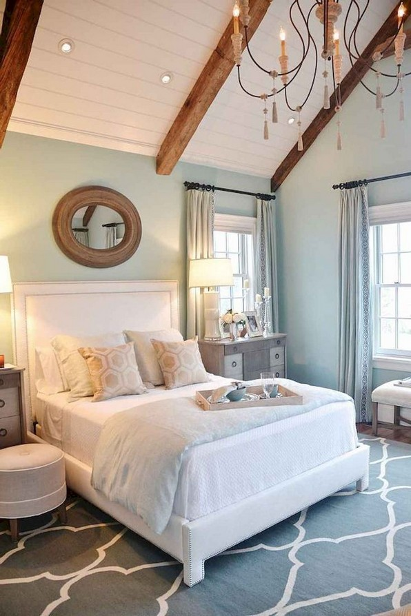 18 Beautiful Rustic Coastal Farmhouse Style 10