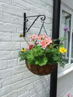 18 Charming Examples How To Arrange Hanging Flowers For Your Yard 14