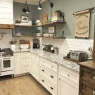 16 Amazing Modern Farmhouse Kitchen Design Ideas To Blend Modern And Classic Theme 11