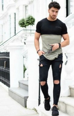 16 Chic Spring And Summer Men Outfits Ideas With Jeans To Try 01
