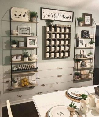 17 Amazing Rustic Dining Wall Decor Ideas 08