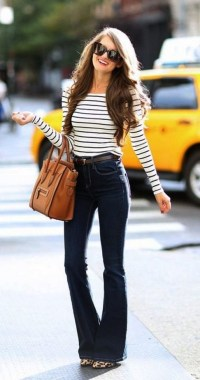 17 Best Ideas To Wear Flared Jeans 06