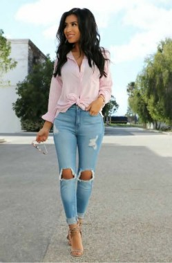 18 Creative Spring Outfit Ideas For Women 07