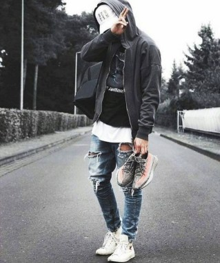 18 Gorgeous Men Street Styles Ideas 26