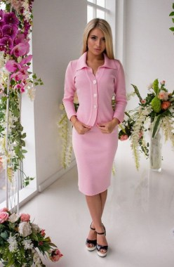18 Impressive Pink Work Outfits Ideas For Girls 14