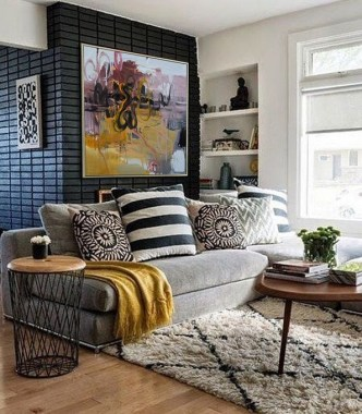 18 Stylish Spring Color Palettes Ideas For Your Living Room 05