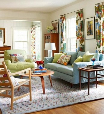 18 Stylish Spring Color Palettes Ideas For Your Living Room 17