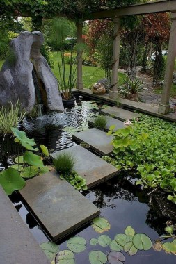 19 Amazing Water Features Design Ideas On A Budget Best For Garden And Backyard 01